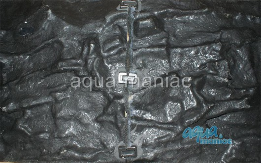 3D grey thin background 146x45cm