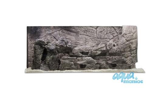 3D grey thin background 97x36cm