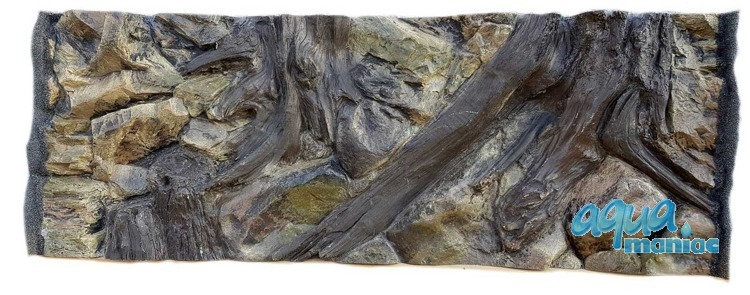 3D root background 97x36cm