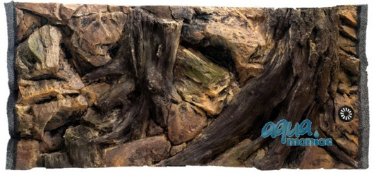 3D root background 97x54cm