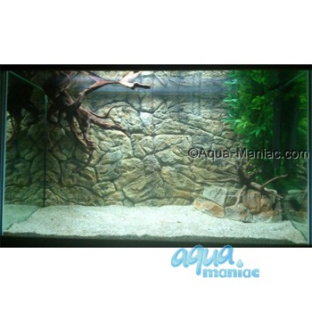 Fluval Roma 240 thin rock background 117x45cm 2 sections