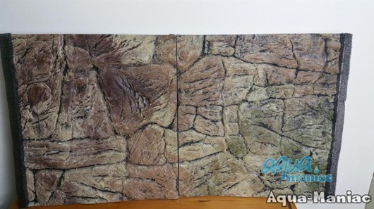 JUWEL RIO 240 3D thin rock background 117x45cm in 2 sections