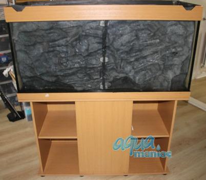 JUWEL Vision 260 3D rock background 117x54cm 2 sections