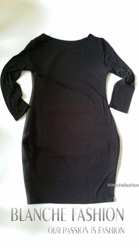 Ladies Sexy Mini Black Dress