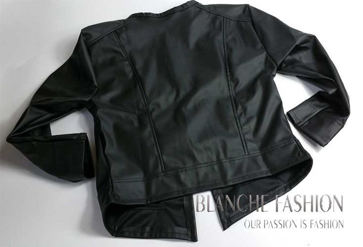 Ladies elegant sexy jacket Eco Leather size 8