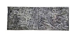3D Background Thin Grey Rock 77x54cm to fit Aqua Oak 145 Aquarium