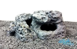 Limestone rock hide for fish - Medium Size