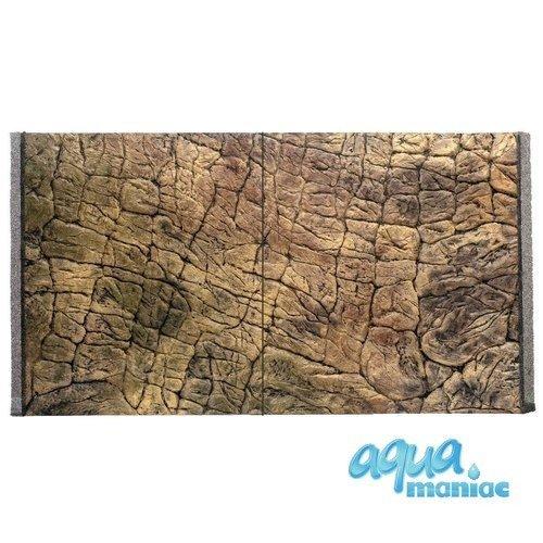 3D Background Thin Rock 77x54cm to fit Aqua Oak 145 Aquarium