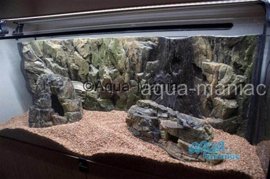 Bundle of large and long  beige aquarium rocks