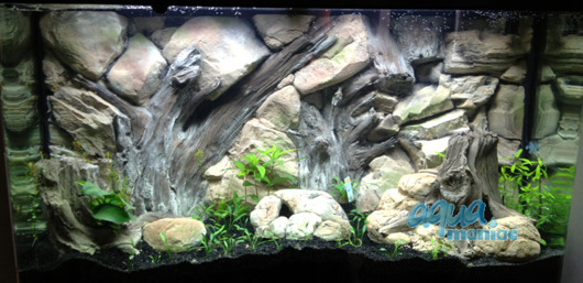 JUWEL RIO 180 3D Root Background 98x40cm in 2 sections
