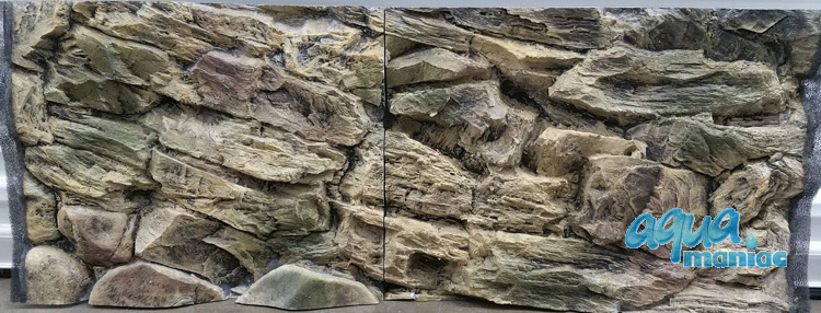 JUWEL Vision 400 3D beige rock background 147x53cm in 3 sections