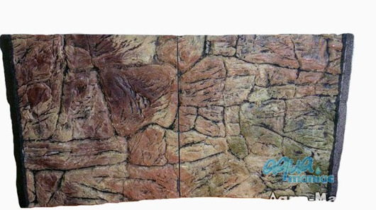 JUWEL Vision 450 3D thin rock background 147x53cm in 3 sections