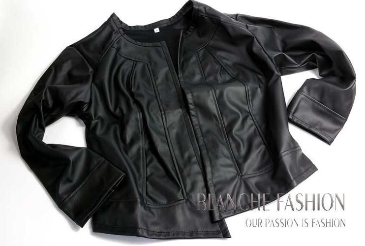Ladies elegant sexy jacket Eco Leather size 14
