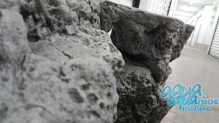 Modules of Limestone Background size:150x54cm aquarium