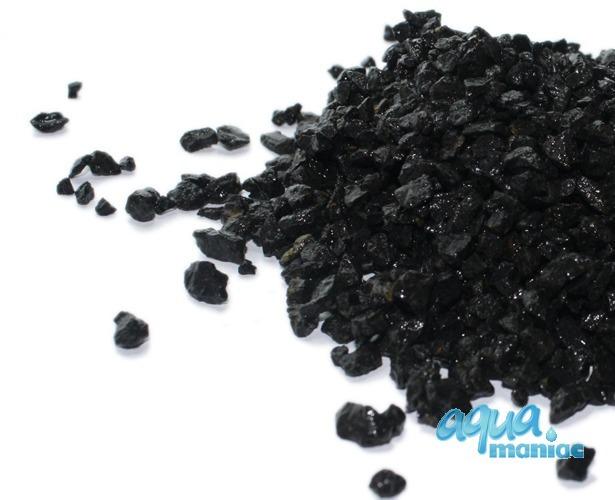 Natural Black Substrate Basalt 2-5mm grains