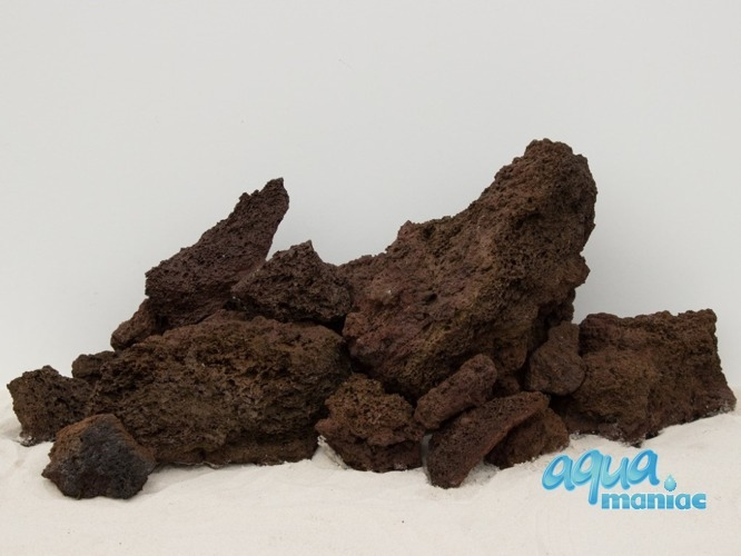 Natural Carved Brown Lava Rock