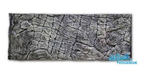 Fluval Roma 125 thin rock background 78x43cm 1 section