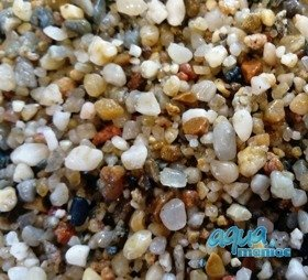 Natural River Gravel Substrate 2-5mm